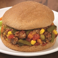 Southwest Garden Sloppy Joes