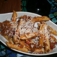 Southwest Penne Pasta With Meat sauce