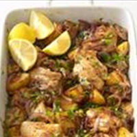 Spanish Chicken and Potato Roast