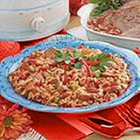 Spanish Rice With Chicken And Sausage