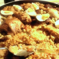 Spanish-Style Chicken and Rice