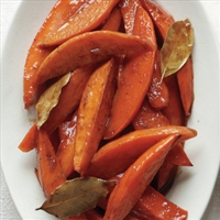 Spiced Honey-Glazed Sweet Potato Wedges