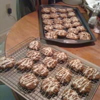 Spiced Oatmeal White Chocolate Raisin Cookies