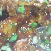 spicy asian style wings
