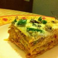 Spicy Chicken Lasagna