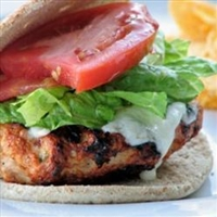 Spicy Chipotle Turkey Burgers (9 Pts)