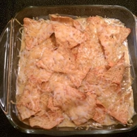 Spicy Dorito Casserole