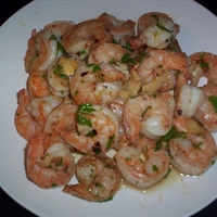 Spicy Garlic Shrimp