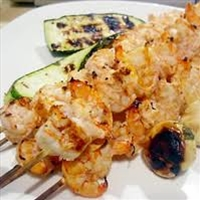 SPICY LIME-GRILLED PRAWNS