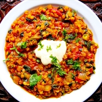 Spicy Red Lentil Dal