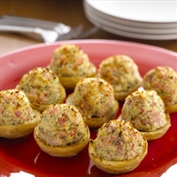 Spinach And Artichoke Stuffed Artichoke Bottoms