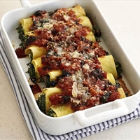 Spinach and Feta Cannelloni