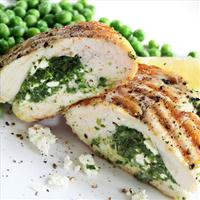 Spinach and Feta Cheese Stuffed Chicken