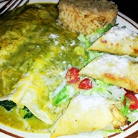 Spinach Enchiladas