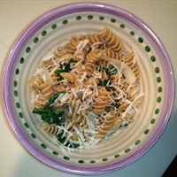 Spinach Garlic Pasta