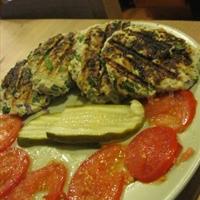 Spinach Turkey Burger