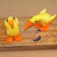 Squash Geese (Decoration)