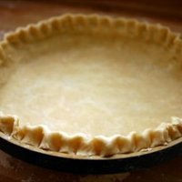 Standard Fruit Pie Crust - Made with Seeds and Nuts)