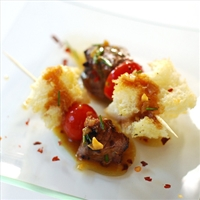 Steak Panzanella Kabobs