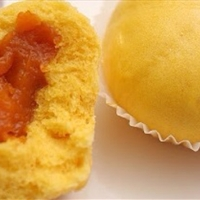 Pumpkin Buns (eggless, steam)