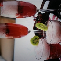 Strawberry Champaign Punch