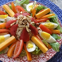 Strawberry Chicken Salad Salad