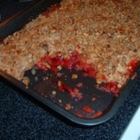 Strawberry Dump Cake