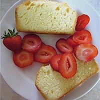Strawberry Lemon Bavarian Cake