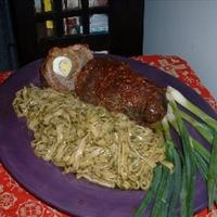 Stuffed Beef Roll-Ups