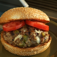 Stuffed Burger