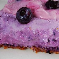 Sugar Free Blueberry Icebox Pie