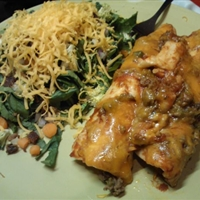 Super Easy Beef Enchiladas