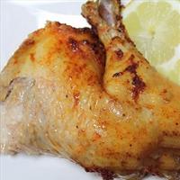 Super Easy Rotisserie Style Crockpot Chicken