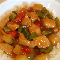 Sweet and Sour Chicken or Pork