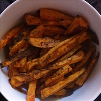 Sweet Potato and Carrot chips