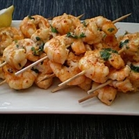 Sweet Shrimp Skewers