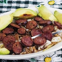 Sweet-sour Cabbage with Sausage