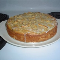 Swiss Almond Apple Cake