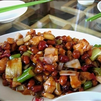 Szechuan Kung Pao Chicken (Gong Bao Ji Ding)