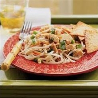 Tamari Grilled Chicken with Noodle Salad