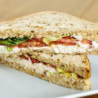 Tarragon Chicken Salad Sandwiches