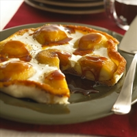 Tart Tatin with Goat Cheese