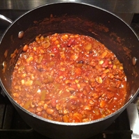 Tasty 13-Bean Vegetarian Chili