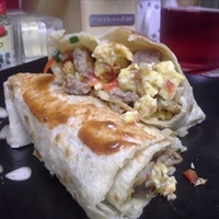 TBC's Breakfast Wrap