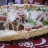 TBC's Meatball Parm Subs