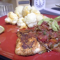 TBC's Spicy Blackened Tilapia