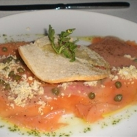 Tequila Cured Salmon Gravalax