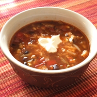 Tex Mex Fiesta Soup