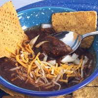 Texas Style Chili Con Carne
