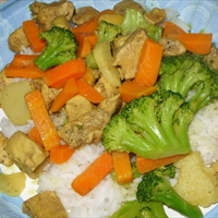 Thai Curry Chicken and Vegetables